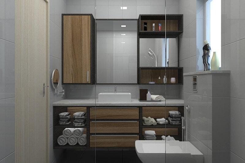 Wooden bathroom cabinets making your bathroom cabinet storage look clean