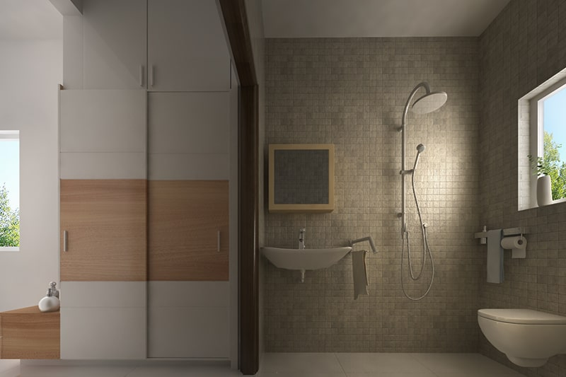 Tall bathroom cabinets are designed floor to ceiling bathroom cabinet