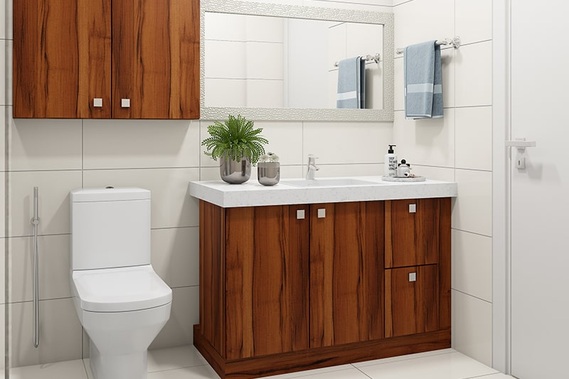 Bathroom floor cabinets gives a large amount of storage space in your bathroom