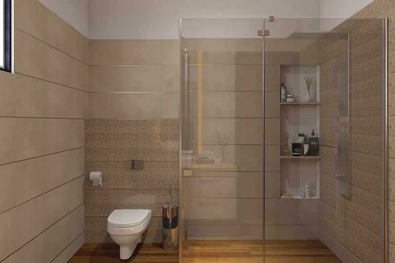 Shelf bathroom units gives modern and minimal look to your bathroom cabinets
