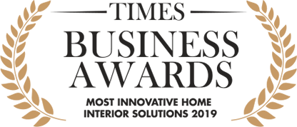 Design Cafe received Times Business Awards for Most Innovative Interior Solutions 2019.