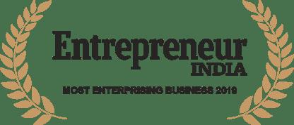 Design Cafe received Entrepreneur India's Most Enterprising Business 2019