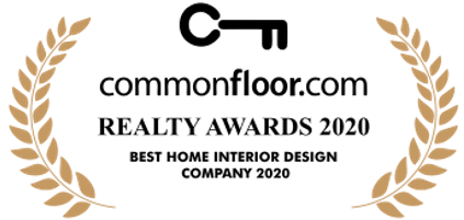 Indiaproperty Commonfloor Realty Awards 2020 Best Home Interior Design Company 2020 won by Design Cafe