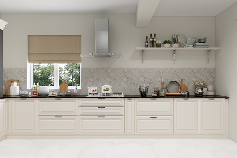 According to kitchen vastu, your kitchen must have at least one window facing the east