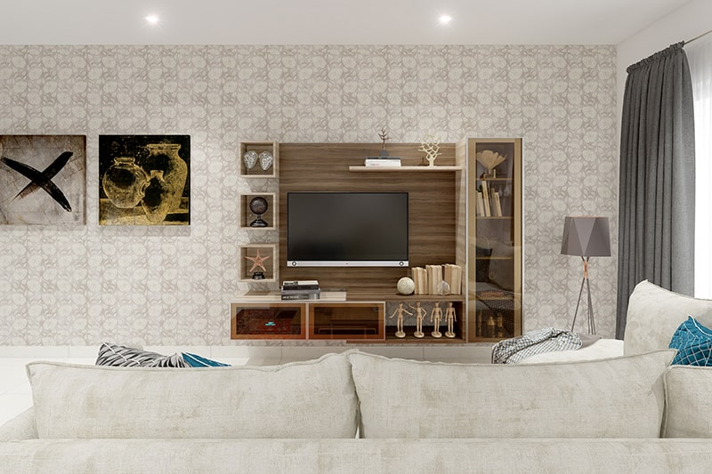 Wallpaper ideas for living room/wallpaper designs for hall feature wall with intricate and ornate