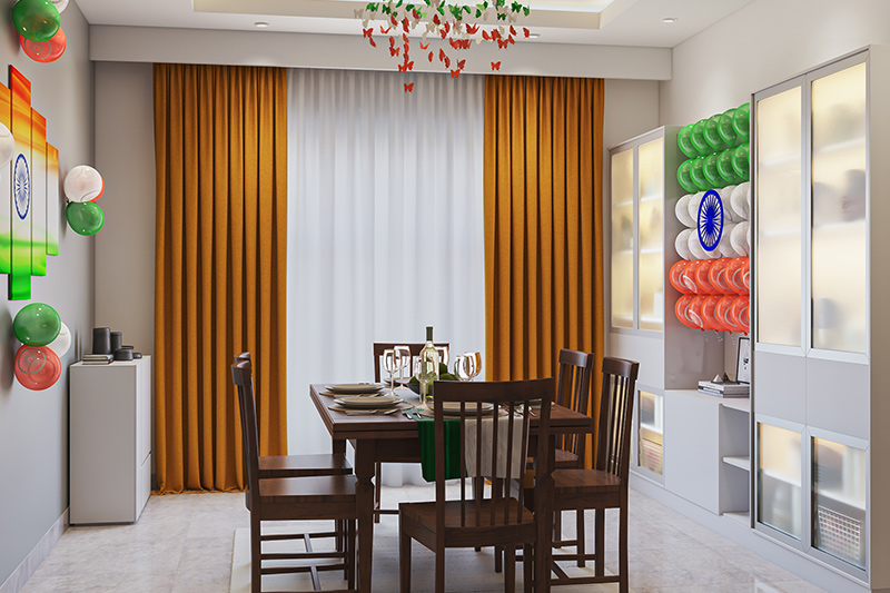 Decoration for republic day to deck up your dining space for republic day decoration