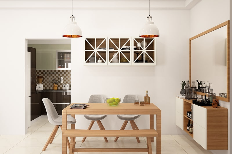 Dining Room Cabinet Designs Design Cafe, Wall Cabinets In Dining Room