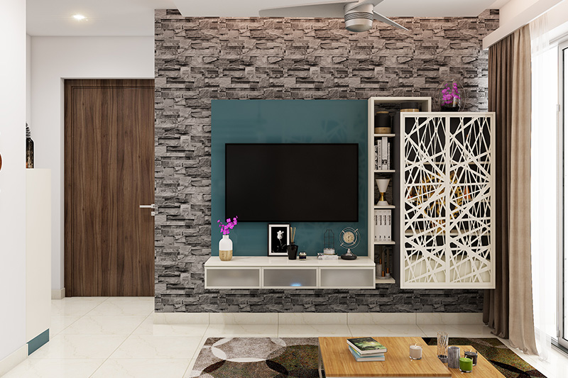 Showcase ideas for living room which is sleek and the design blends harmoniously with other pieces of furniture with images of showcase designs for living room