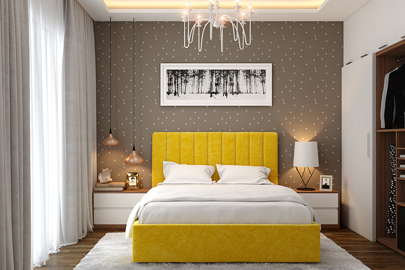 20 Modern Bedroom Wallpaper Design Ideas Design Cafe