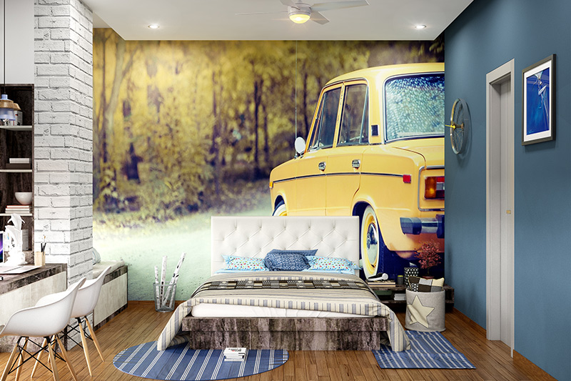 Wallpaper bedroom design ideas for travel enthusiasts where you can get just the right inspiration for bedroom design wallpaper