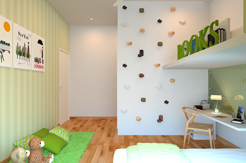 Bedroom wall decoration can be fun and interesting with  themed wallpapers to simple chalkboards with wall decor stickers for bedroom