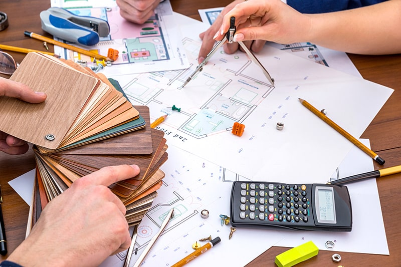 Choose the best interior designers for your first time home interiors work