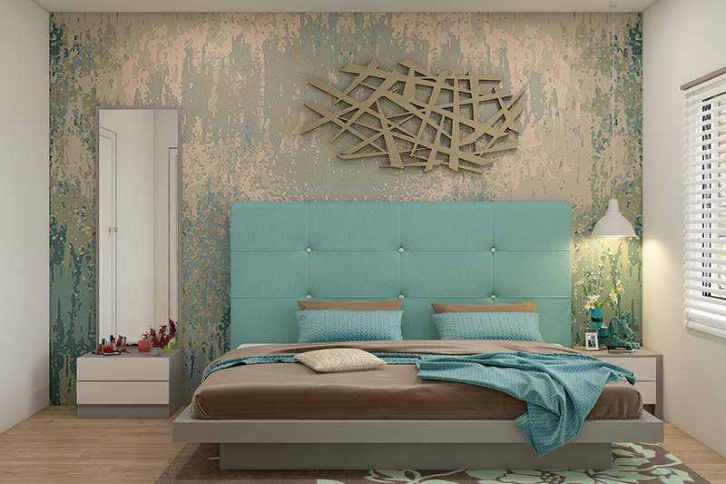 New bed design for your home where the height of the bed is as important as the size of bed ke design