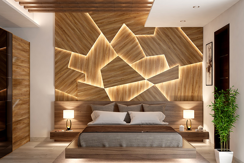 Modern bed designs for your home where you consider the conditions of your city before choosing the right material for your bed designs in wood with box
