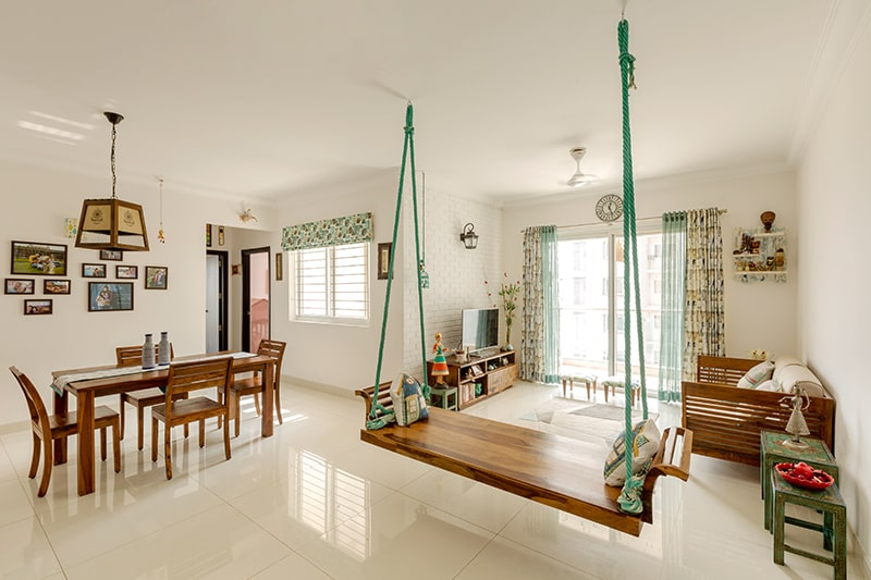 Traditional ethnic look in namma bengaluru home interiors in 2020