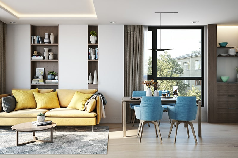 Mumbai house owners choose minimalism as a style is visually pleasing styles in 2020