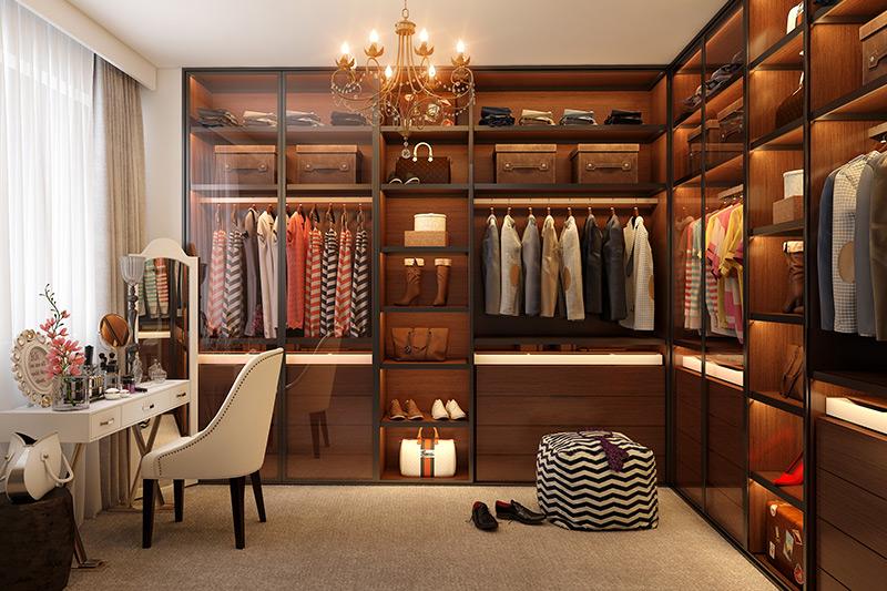 Walk in wardrobe design ideas for your home
