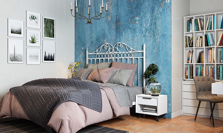 This type of metal bed headboard is a perfect pick and durable and long-lasting.