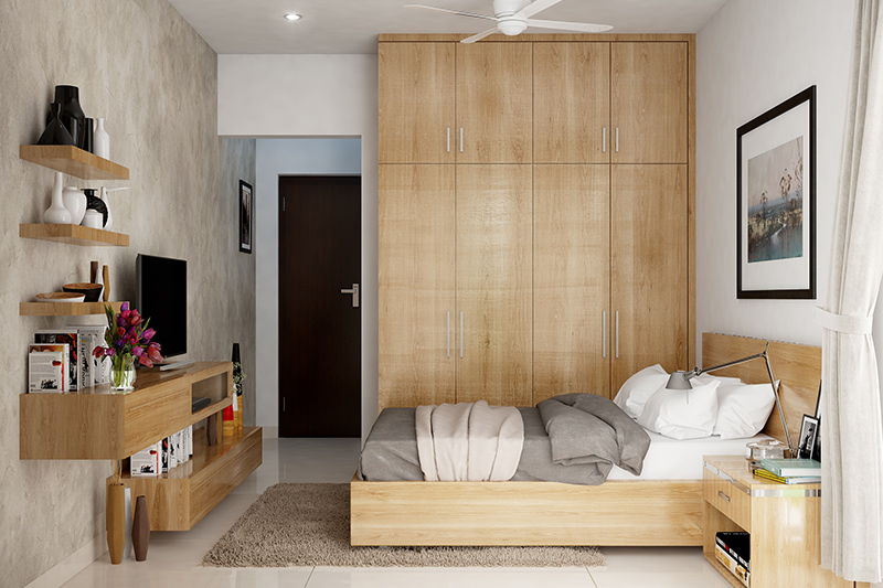 Wooden cupboard designs for bedrooms which suits the theme of almost any style of modern bedroom cupboard designs