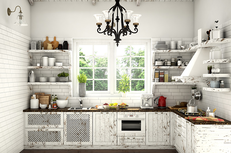 Modern indian kitchen images for you where styled kitchen is adorable with its white distressed wood shelves which also shows pictures of modern kitchens