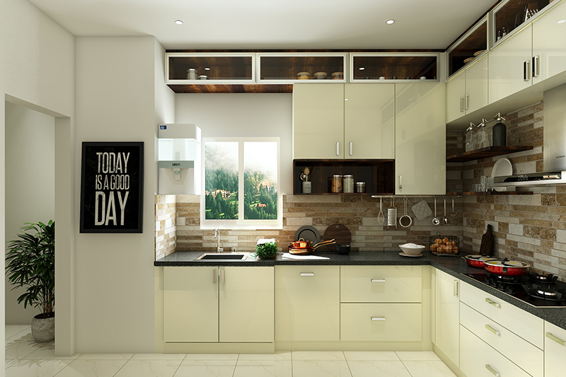 Modern kitchen design which exemplifies the perfect play of texture