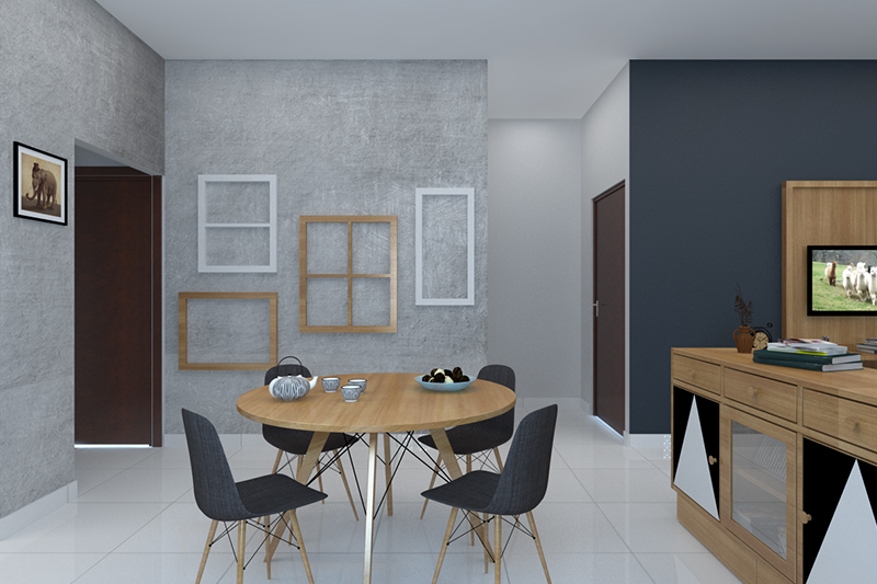 Dining table design catalogue for your home supported by a central base for round dining table design