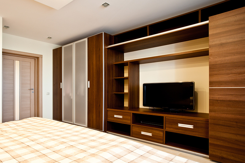 Tv wardrobe design which makes the most out of your designated wardrobe space