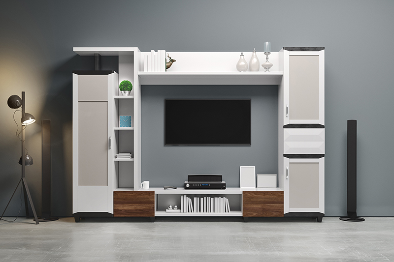 Tv wardrobe designs which is perfect for modern home owners