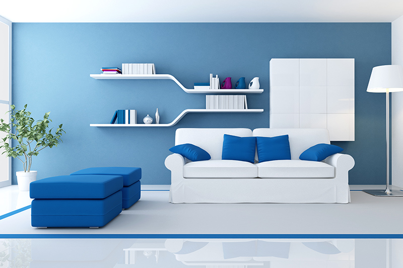 Living room wall shelves designs for your home