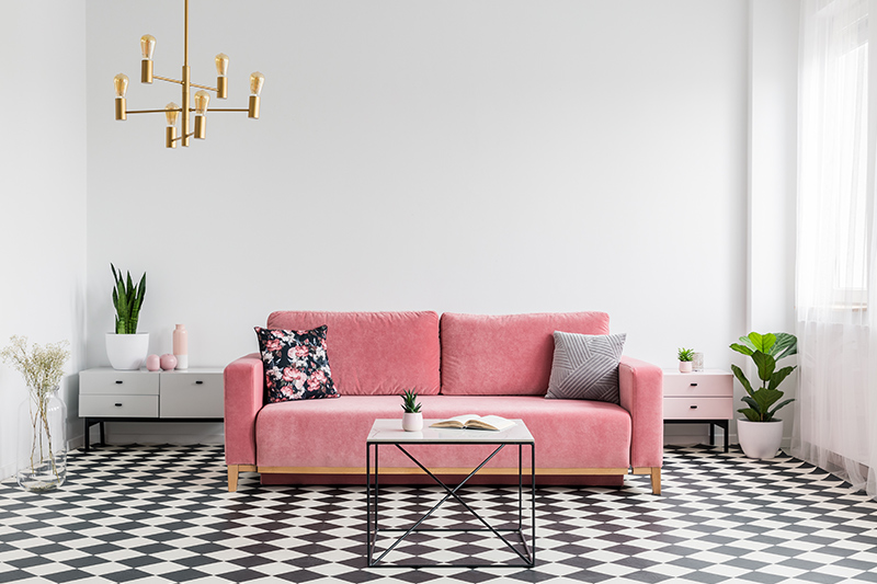Living room floor tiles where the right floor tile design can be a game-changer to any space of your living room tiles