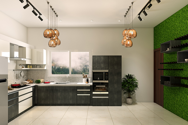 Kitchen design for seniors where a dark kitchen is an invitation to home accidents