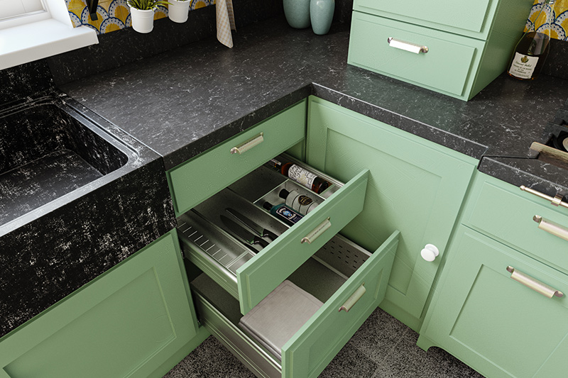 Modular kitchen drawers price under your budget with the price of a modular kitchen