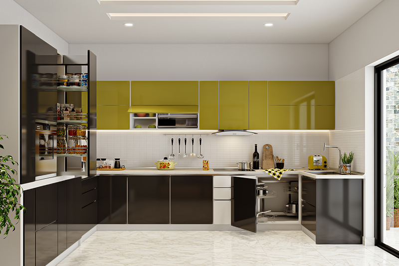Modular kitchen price for your home where number of modules fixed or installed also play a role in determining the price of your modular kitchen