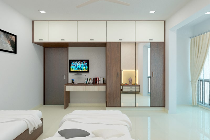 Top designer wardrobes with mirrors on wardrobe are the trending designer wardrobes