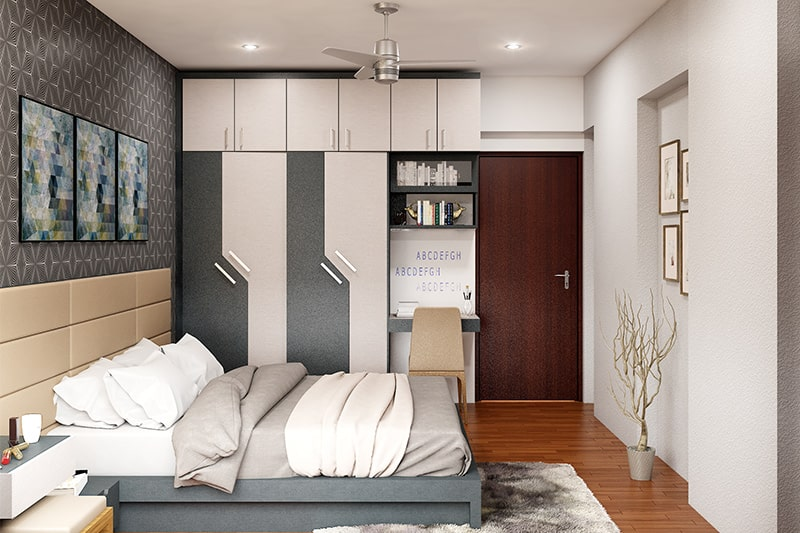 Designer wardrobes with modern designs for your bedroom