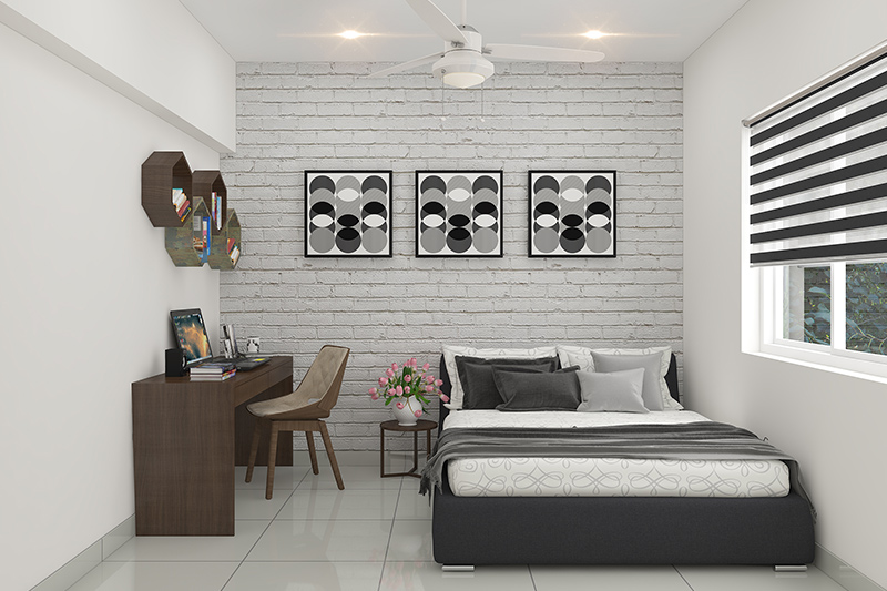 Study room design with bed for your home