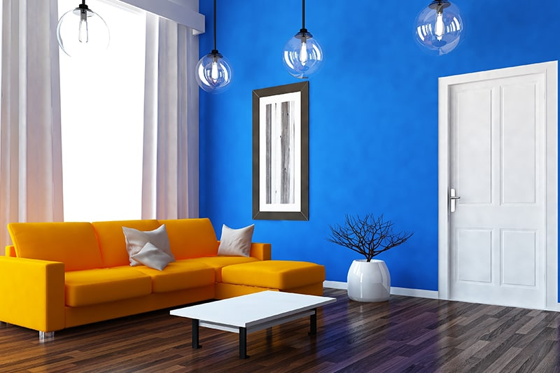Blue room colors with azure infuses tranquillity, ease and harmony into your home blue wall paint colors