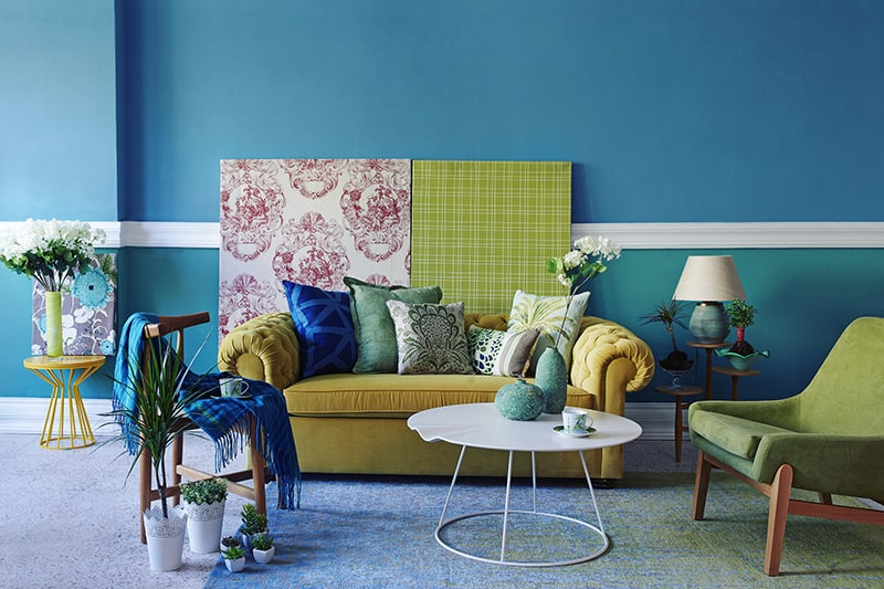 Turquoise blue paint colors to transform any room into a fun-loving and welcoming one