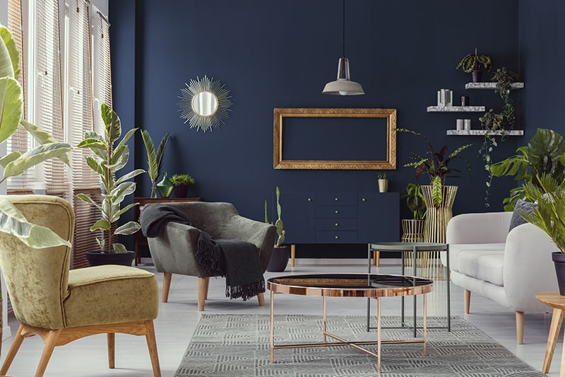 Blue room paint colours for your home
