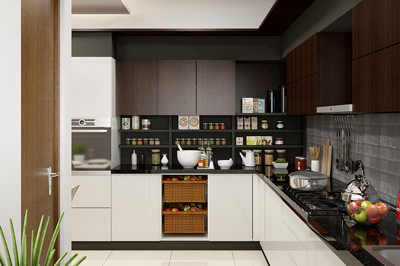 How to increase storage space for perfect modular kitchen
