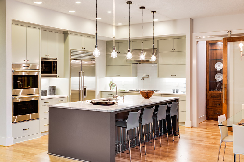 How choose good lighting to the perfect modular kitchen design
