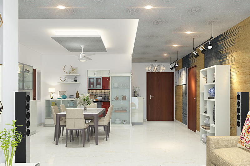 False ceiling colour combinations for your home