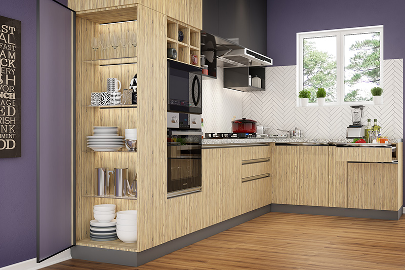 Let us tell you how to design a l shaped kitchen