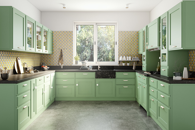 Let us tell you how to design a u shaped kitchen which ensures everything you need is within easy reach
