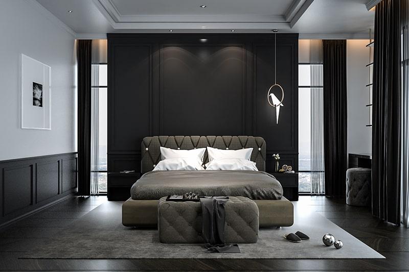 Black Bedroom Design Ideas Design Cafe