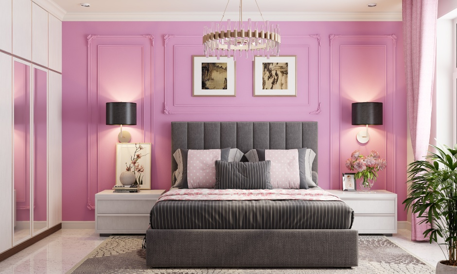 Cotton candy pink colour room for your home for everyone young at heart
