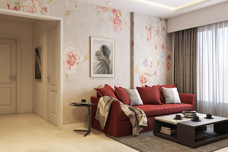 New type wallpaper for your home with bold works of art on the walls which are a type of mural wallpapers