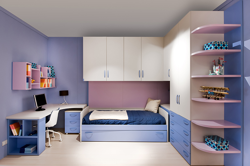 Cupboard ideas for small bedrooms which is a brilliant design hack for saving space