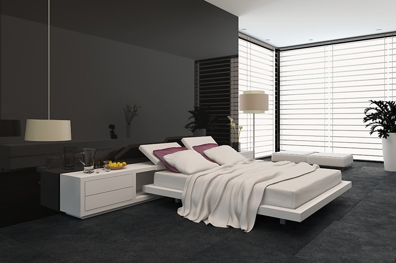 Latest modern bedroom with a adjustable modern bed designs to make a luxury look