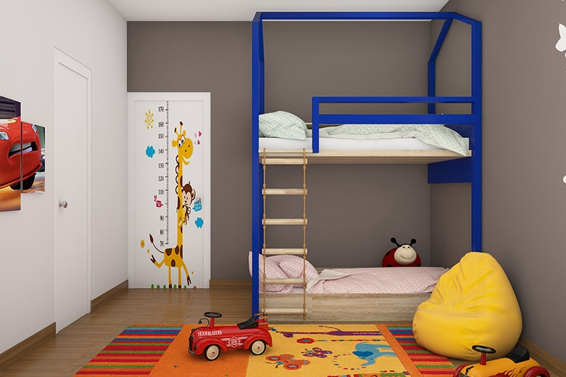 Modern bunk bed designs are perfect for space saving to your kids bedroom